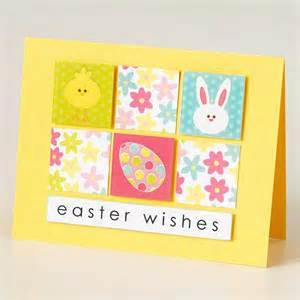easy to make easter cards