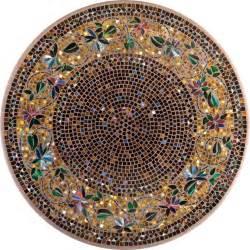 Woodard Landgrave Patio Furniture Knf Jardin Mosaic Table
