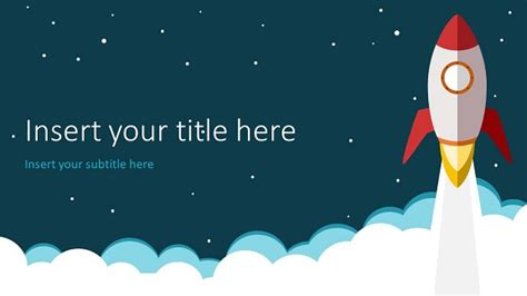 Rocket Powerpoint Template Themed Powerpoint Templates