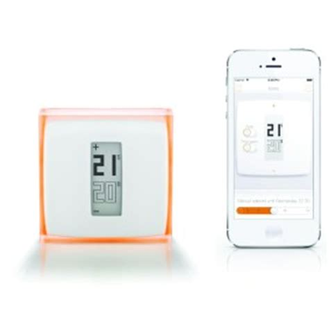 netatmo smart thermostat and boiler with