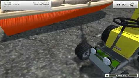 farming simulator boat videos farming simulator 2013 mod showcase boats beer and a