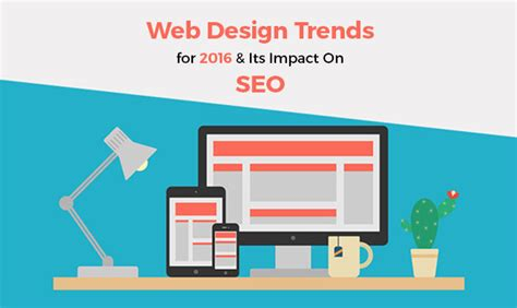 Seo Design by Web Design Trends For 2016 And Their Impact On Seo