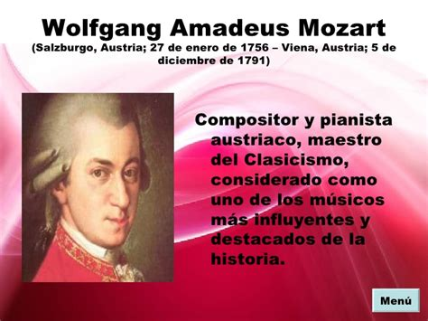 wolfgang amadeus mozart biography ppt proyecto powerpoint