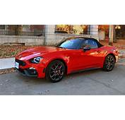 2017 Fiat 124 Spider Abarth Test Drive Review