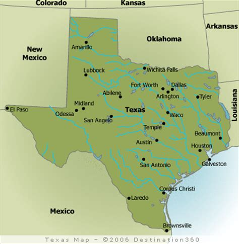 map of the state of texas where is houston texas on a map