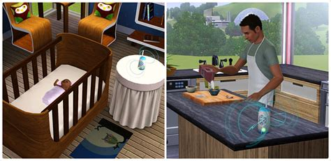 Complete Nursery Furniture Set Gift Of Speech Baby Monitor The Sims 3