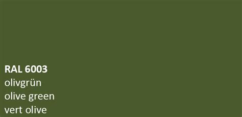 ral 6003 olive green colour code gloss enamel metal paint