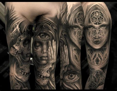 15 majestic gothic cathedral tattoos tattoodo