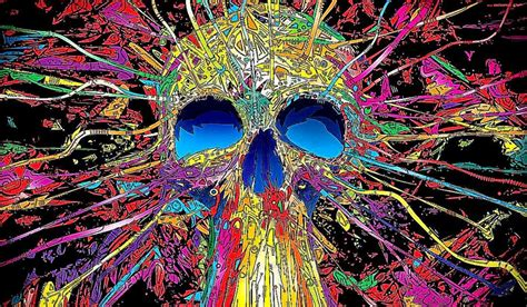 colorful skull vector 3d colorful abstract skull photo photo wallpapers