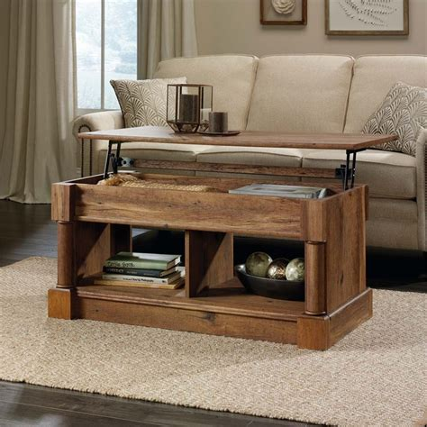 Sauder Lift Top Coffee Table Sauder Palladia Lift Top Coffee Table In Vintage Oak 420716