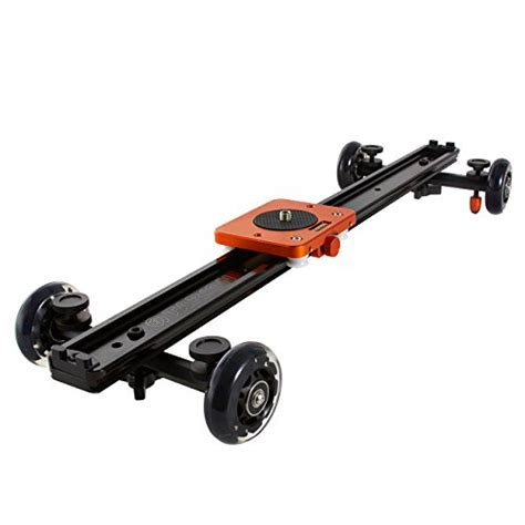 4 Bearings 60cm Slider Track Stabilizer tarion tr sd60 60cm 24 quot track slider dolly stabilizer stabilization system with wheel for dslr