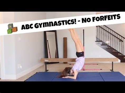alphabet gymnastics challenge alphabet gymnastics no forfeits youtube