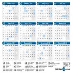 Calendario 2016 Con Feriados Calend 225 2016 Feriados Mundodastribos Todas As