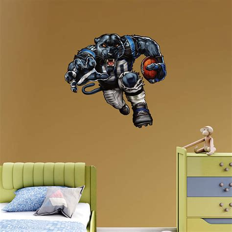 Carolina Panthers Decorations by Pumped Up Panther Wall Decal Shop Fathead 174 For Carolina