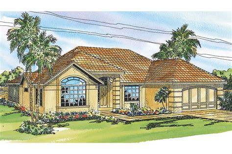 Mediterranean House Plan by Mediterranean House Plans Pereza 11 075 Associated Designs