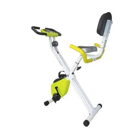 jual total fitness x bike tl 920 sepeda statis kuning