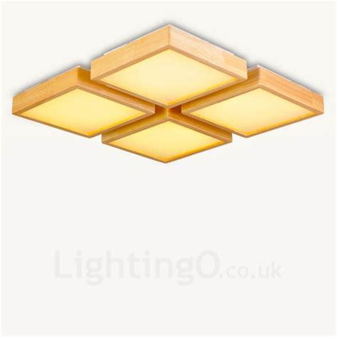4 flush mount ceiling light 4 light modern contemporary nordic style flush mount
