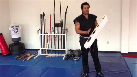 shark karate home made martial arts equipment