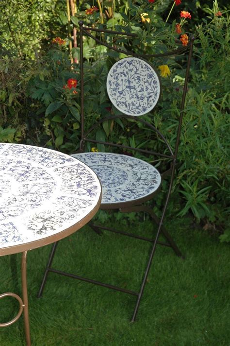 Table Fer Forg Ext Rieur 930 by Table Et Chaises Jardin Fer Forg 233 C 233 Ramique 2 Personnes