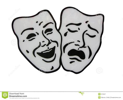 traditional drama masks theater masks royalty free stock photography image 515527