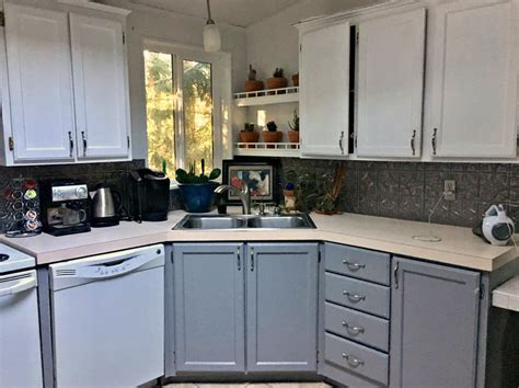 How To Makeover Kitchen Cabinets Kitchen Cabinet Makeover A Before And After Project With Paint