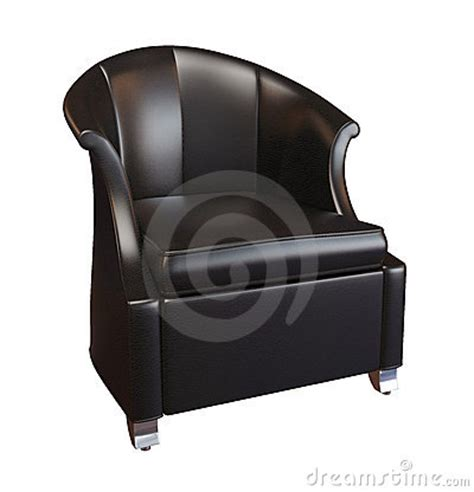 comfy leather armchair comfy black leather armchair royalty free stock photos