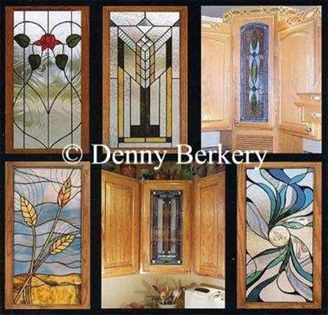 Stained Glass Cabinet Door Patterns 300 Stained Glass Cabinet Door Designs Copyright Free Ebay