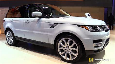 range rover sport interior 2017 2017 range rover sport hse diesel exterior and interior