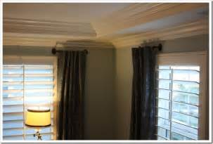 side window curtain rods 17 best images about curtains on rods on