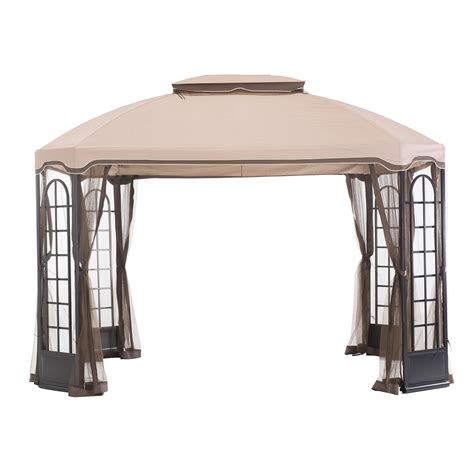 replacement awnings for gazebos essential garden replacement canopy for terrace gazebo