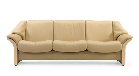 Stressless Eldorado Sofa by Circle Furniture Eldorado Stressless Lowback Sofa