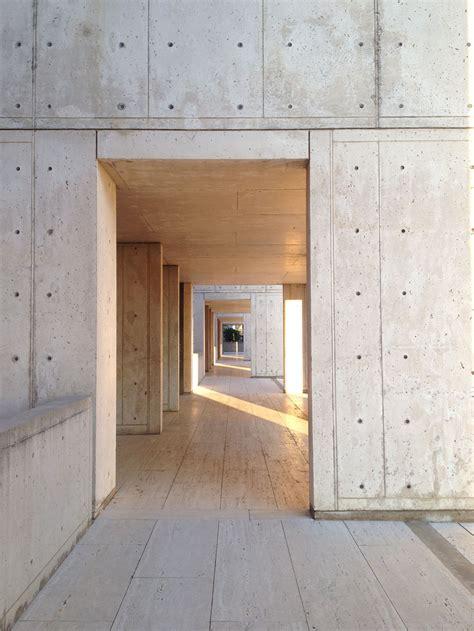 the gallery for gt louis kahn salk institute sunset