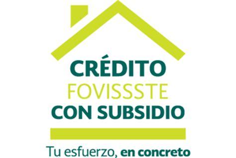 crdito fovissste 2016 credito hipotecario cr 233 dito con subsidio de fovissste credito hipotecarios