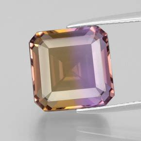 Ametrine 6 60ct 9 6 carat bi color ametrine gem from bolivia and