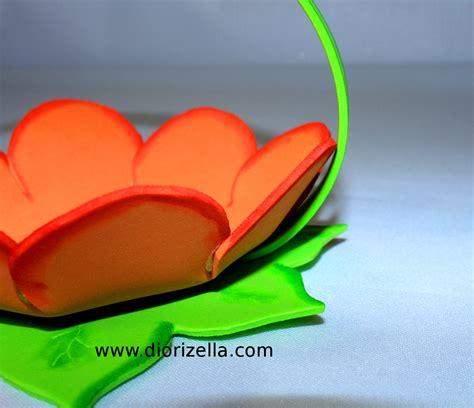 canastas para dulces foami diorizella events and crafts diy como hacer canasta con