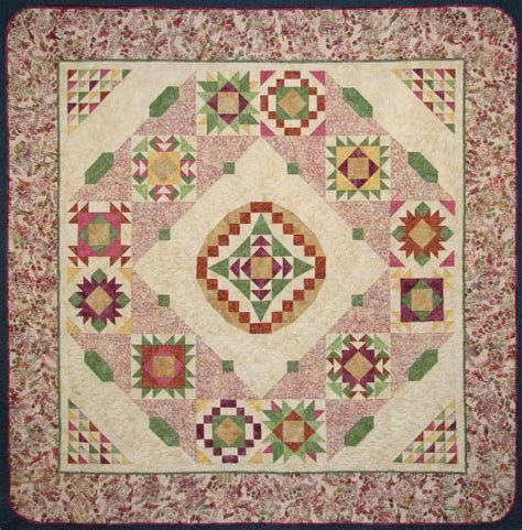 Summer Quilts For Sale 2010 Block Of The Month Summer Serenity