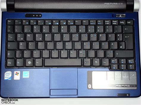 Keyboard Netbook Acer Review Acer Aspire One D250 Mininotebook Notebookcheck