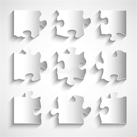 Puzzle Template 9 Pieces by 9 Jigsaw Puzzle Template Www Pixshark Images