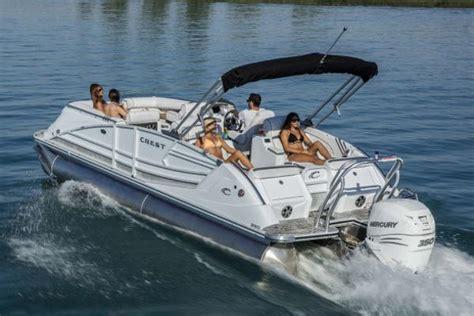 crest pontoons for sale crest pontoon boats boats for sale boats
