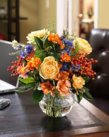 silk flower centerpieces buy coral blue silk flower centerpiece at petals