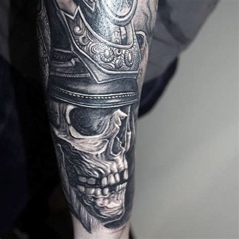 60 samurai helmet tattoo designs for men japanese ink ideas