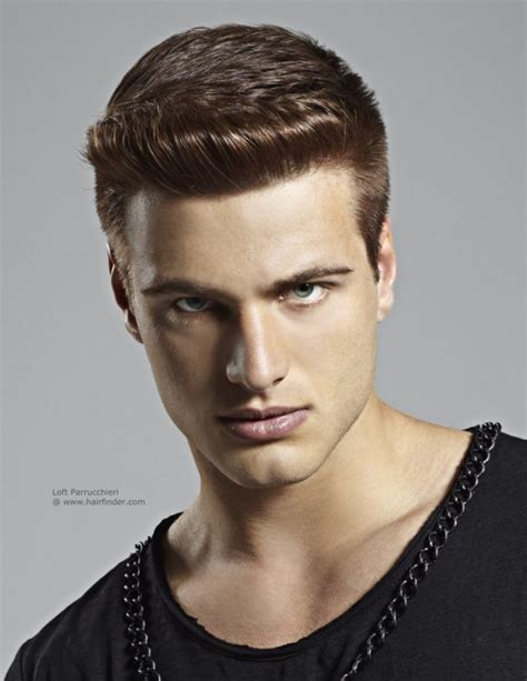 mens haircuts without bangs men hairstyle rockabilly hairstyle for men nice