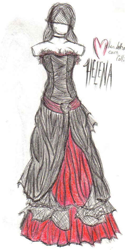 Gamis Helena Dress Original Balotelli my chemical helena dress clothing images frompo