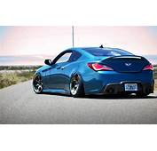 Hyundai Vehicles Cars Auto Tuning Stance Roads Wheels Blue