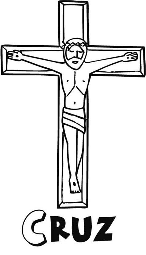 imagenes a lapiz de jesus en la cruz dibujos de primera comuni 243 n para colorear jesucristo en