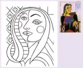 picasso coloring pages coloring pablo picasso and patterns on