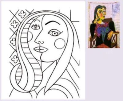 picasso coloring pages pinterest coloring pablo