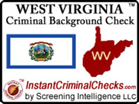 Criminal Background Check Va West Virginia Criminal Background Checks For Employment