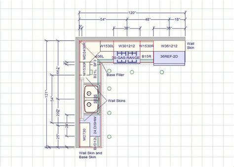 kitchen layout    standard kitchen