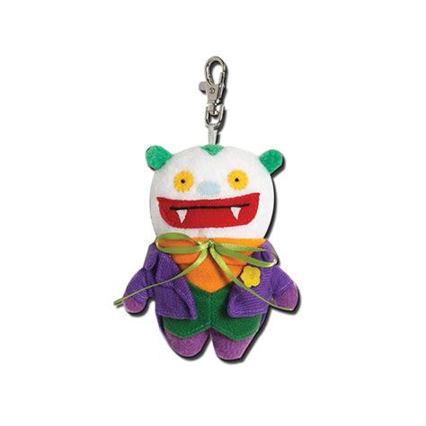 Uglydoll Jiker uglydoll dc comics big toe as the joker 4 inch plush clip on key chain gund ebay